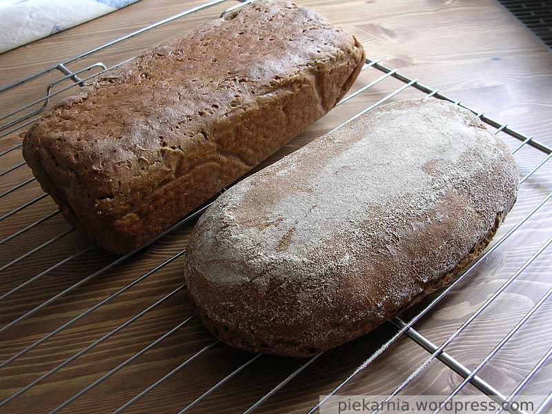 Chleb żytni upieczony na zakwasie